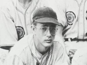 En su época de jugador de bésibol