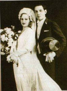 El día de su boda con Valentina