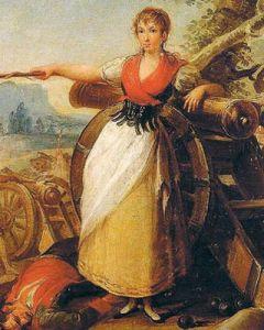 Agustina (pintura de Juan Galvez)