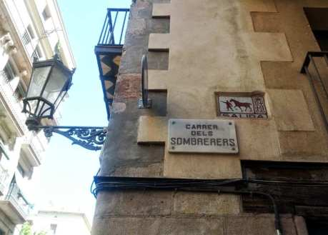 calle dels Sombrerers
