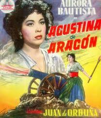 Cartel de la película interpretada por Aurora Bautista