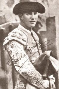 El torero mexicano Carlos Arruza.