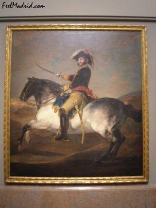 El general José de Palafox pintado por Goya