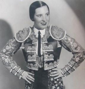 Juanita Cruz, señorita torera.