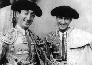 """""""Manolete"""" y Carlos Arruza."""