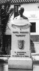 Homenaje de Córdoba Manolete en la Plaza de la Lagunilla.