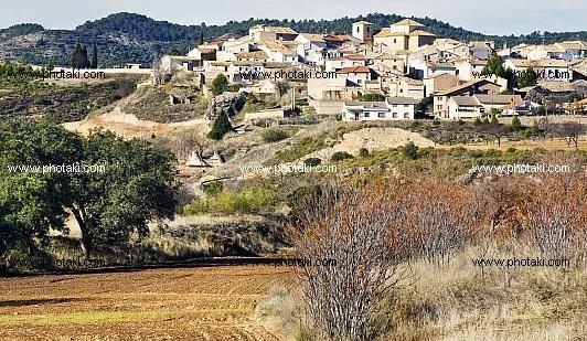 Panorámica de Sayatón (Guadalajara), pueblo natal de Antoñita Bronchalo Lopesino.