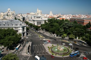 Madrid (Plaza de Cibeles)