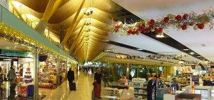 Interior de la terminal del aeropuerto