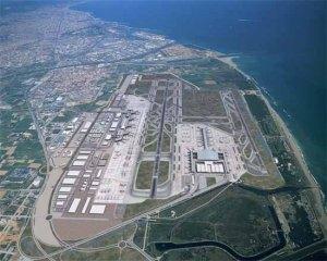 El aeropuerto de Barcelona, a vista de pájaro