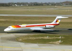 Aterrizaje del Boeing 552