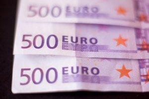 3 billetes de 500 €