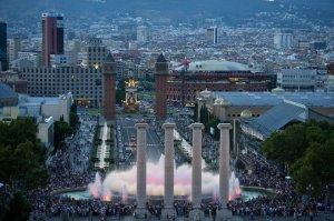 Barcelona (avenida Mª  Cristina)