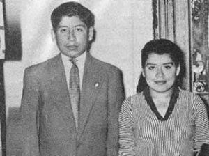 13-Lina con su hijo Gerardo, ya mayorcito