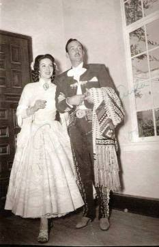 Su boda con María Félix (1952)