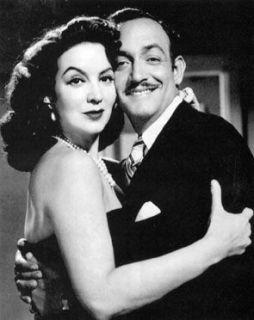 Con María Félix en Repòrtaje (1953)