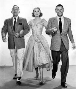 Con Bing Crosby y Frank Sinatra en