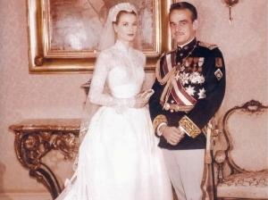 Rainiero y Grace convertidos en marido y mujer