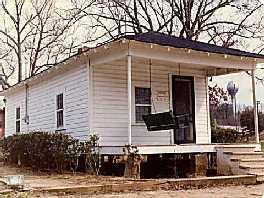La casa donde nació Elvis en Tupelo (Mississippi)