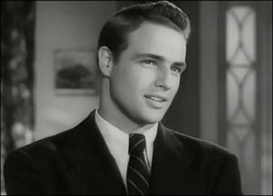 El actor Marlon Brando