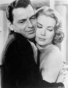 Grace Kellly y Frank Sinatra