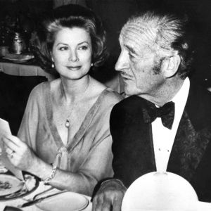 Grace Kelly y David Niven