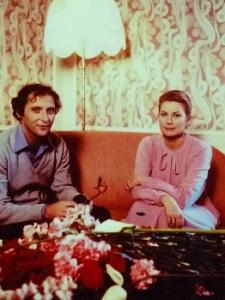 Grace con el director austríaco Robert Dornhelm