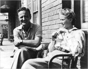 Con el director Fred Zinnemann