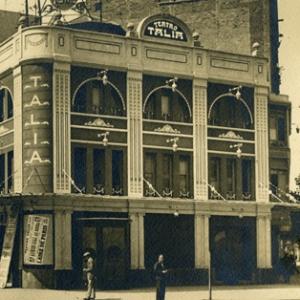 El desaparecido teatro Talía.