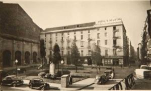 Hotel Sant Agustí en los años 1940.