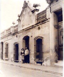 Milagros y Francisco en su casa del barrio de El Coll