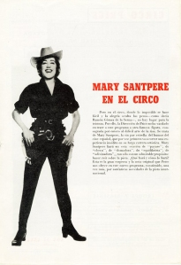 Mary Santpere como Buffalo Bill.