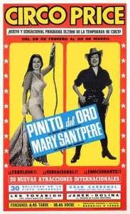 Compartiendo cartel con Pinito del Oro (Cristina María del Pino Segura).
