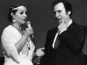 Sara Montiel y Manolo Escobar.