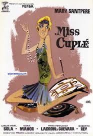 Cartel de Miss Cuplé.