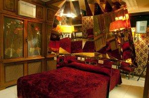 Una de las habitaciones del meublé.