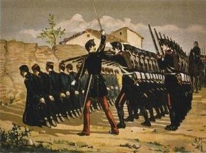 Fusilamiento de 66 sargentos del cuartel de San Gil (año 1866)