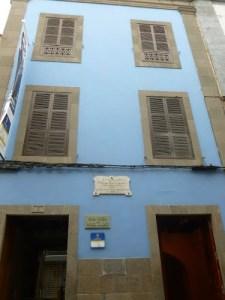 Casa natal del escritor