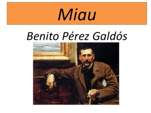 """Miau"" (Pérez Galdós en un òleo de Joaquin Sorolla)"