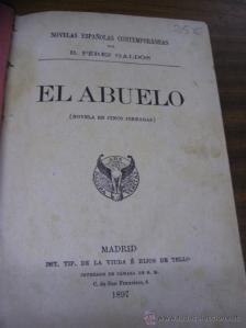 """""""El abuelo"""" (1897)"""