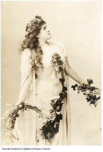 La cantante Marcella Sembrich