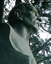 Busto de Benito Pérez Galdós en Rosario (Argentina) (por Erminio Blotta en 1943))