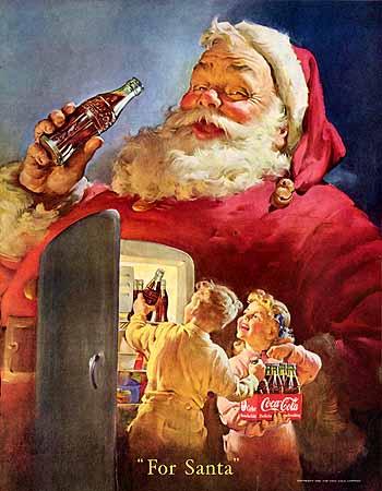 El nuevo Papá Noel de Haddon Sundblom (1931)