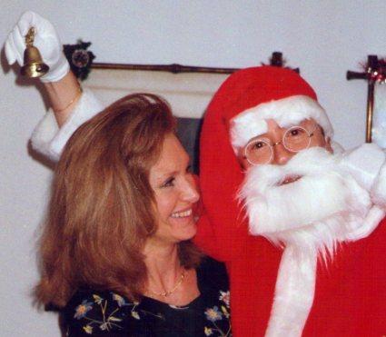 Papá Noel y su esposa Mamá Noel.
