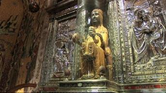 La Moreneta (Virgen de Montserrat).