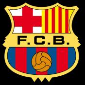Escudo del Fútbol Club Barcelona (Barça).