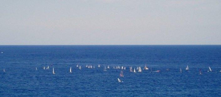 2 El Mediterráneo desde una de las terrazas.