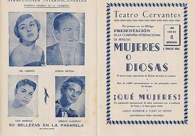 Programa de Mujeres o diosas.