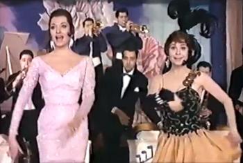 Vampiresas 1930, con Mikaela y Antonio Ozores.
