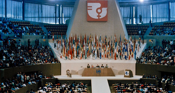 Conferencia Mundial del Año Internacional de la Mujer, México, junio de 1975.